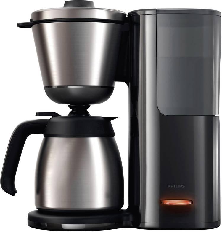 Image of Koffiezetapparaat Philips HD7697/90 Intense RVS, Zwart Capaciteit koppen=15