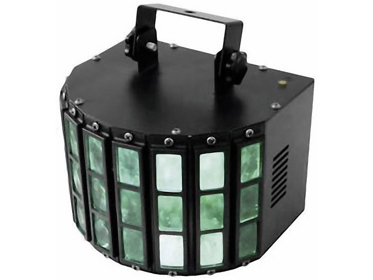 LED-lichteffect Aantal LED's: 6 Eurolite Mini D-5 Straaleffect