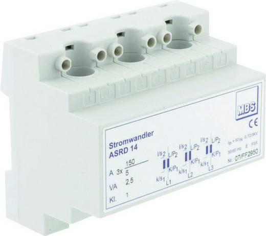 MBS ASRD 14 3X60/5A 1,25VA Kl.1 Stroomomvormer Primaire stroom:3x 60 AGeïnduceerde st