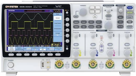 GW Instek GDS-3154 Digitale oscilloscoop 150 MHz 4-kanaals 5 GSa/s 25 kpts 8 Bit Digitaal geheugen (DSO)