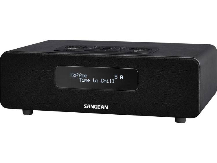 Sangean DDR-36 BT DAB+ Tafelradio AUX, Bluetooth, DAB+, FM Zwart