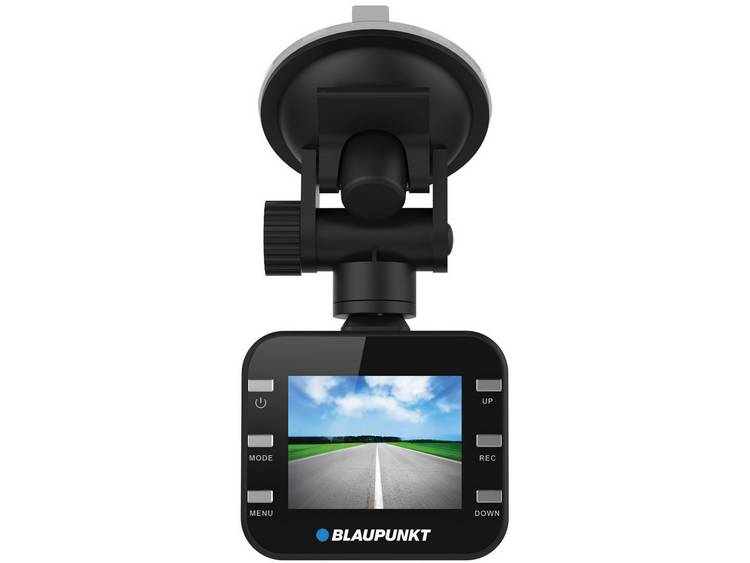 Blaupunkt DVR-BP2.0HD Autocamera 12 V Kijkhoek horizontaal: 120 °