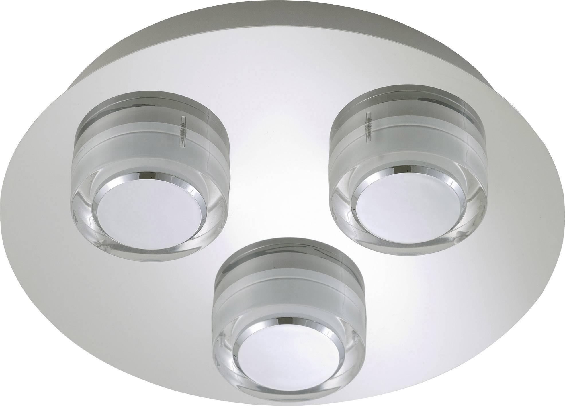 LED-plafondlamp voor badkamer 15 W Warm-wit Briloner 2257-038 Surf ...