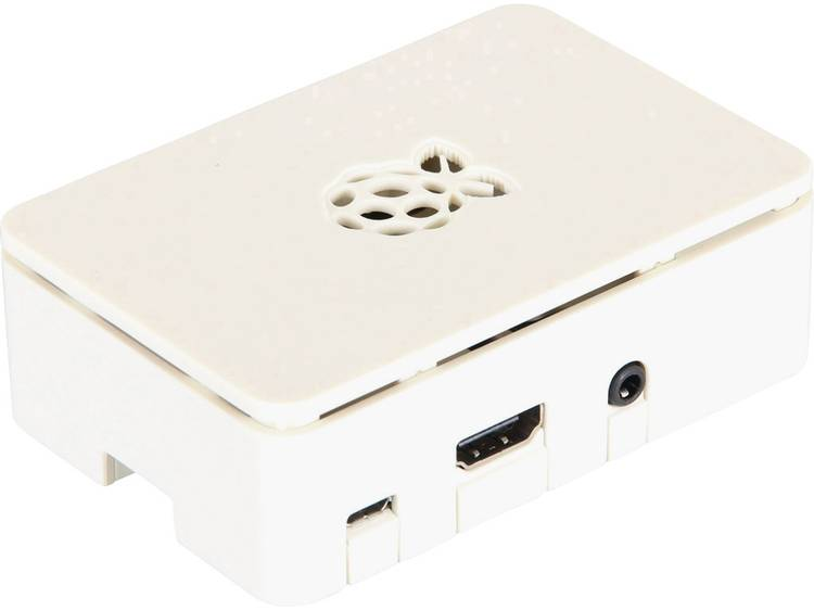 Raspberry Pi B+ behuizing RB-Case+02W Wit