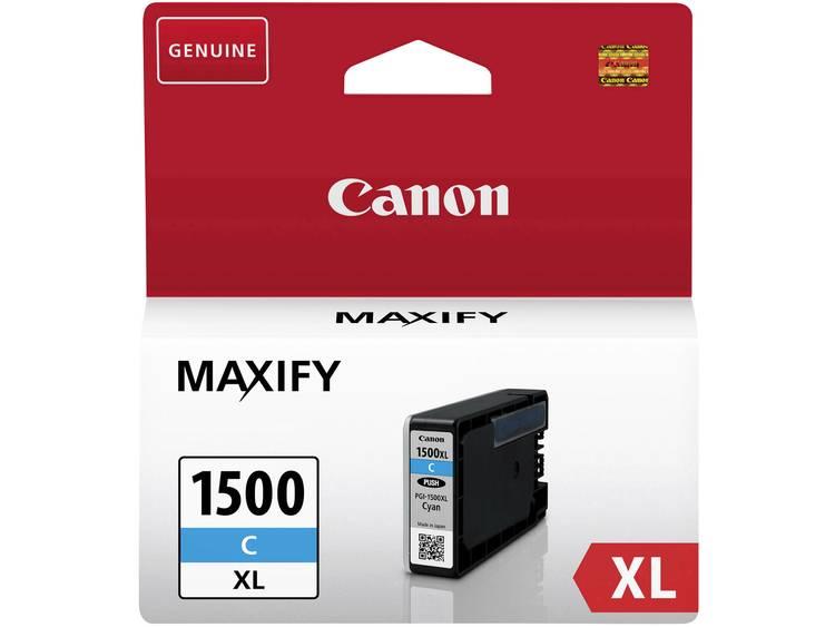 Canon Inkt PGI-1500C XL Origineel Cyaan 9193B001