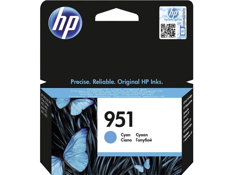 HP Inkt 951 Origineel Cyaan CN050AE