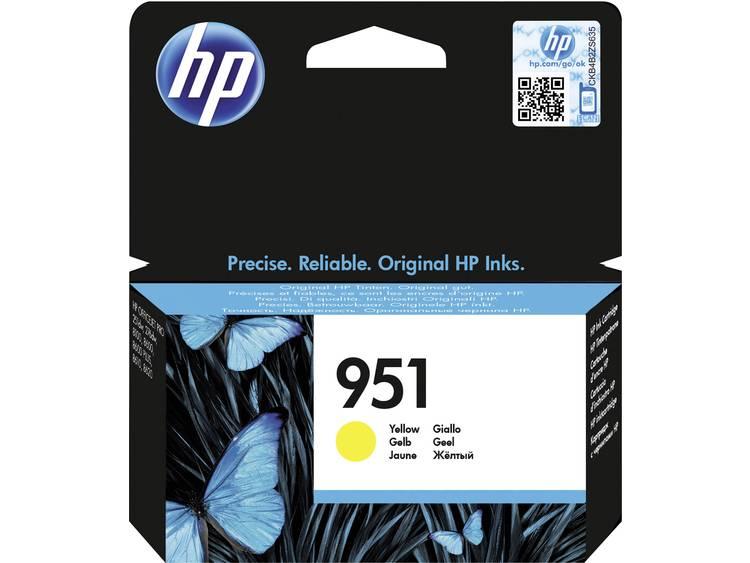 HP Inkt 951 Origineel Geel CN052AE