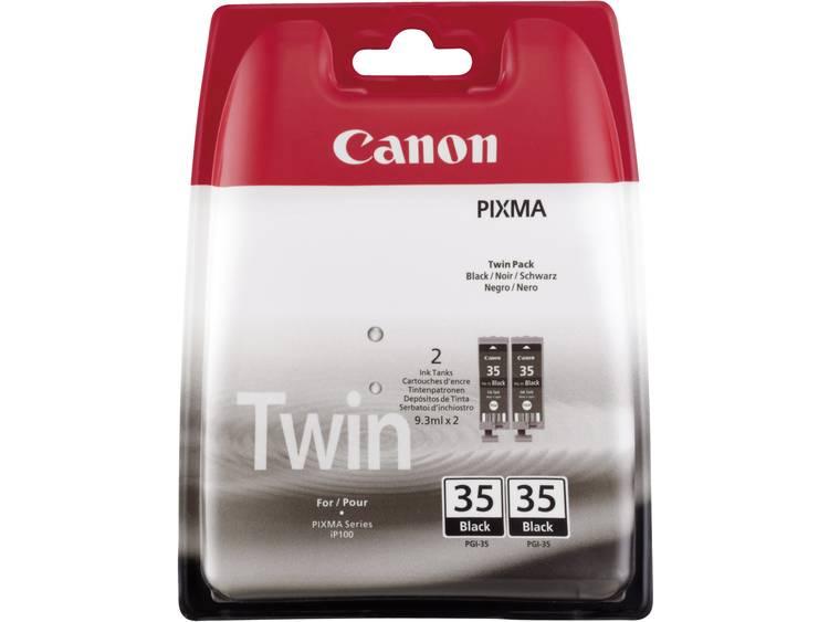 Canon Inkt PGI-35 Origineel 2-pack Zwart 1509B012