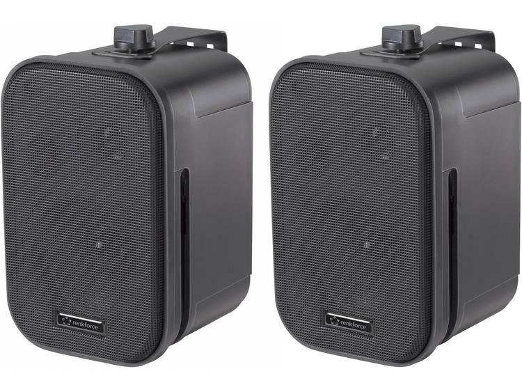 Passieve studio monitor 9.3 cm 3.75 inch Renkforce Control 150 20 W 1 paar kopen