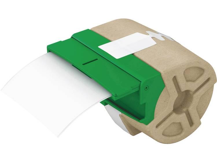 LeitzEtiketten-tape type 7016-00-01, kunststof etiketten op kettingpapier (88 mm x 10 m), wit, voor ICON etikettenprinter