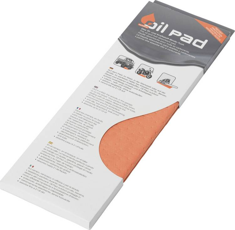 Image of Oliebinddoek Oil Pad Outdoor Orange 24003 (l x b) 60 cm x 80 cm