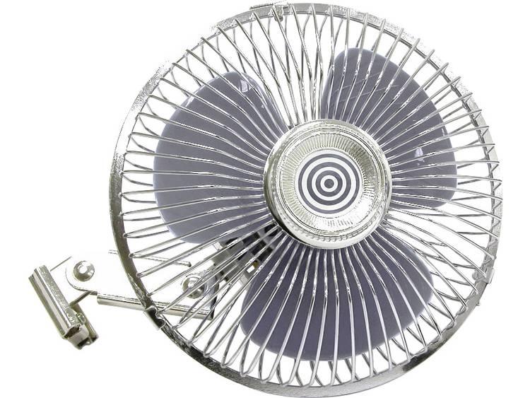 HP Autozubehör Ventilator mit Metallgitter 12V Ventilator 12 V
