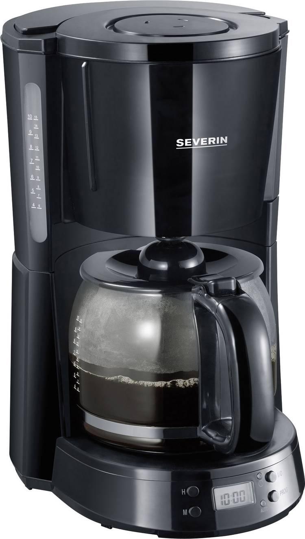Image of Koffiezetapparaat Severin KA 4191 Zwart Capaciteit koppen=10 Timerfunctie