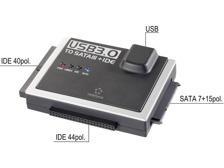 Renkforce USB 3.0 IDE+SATA-converter