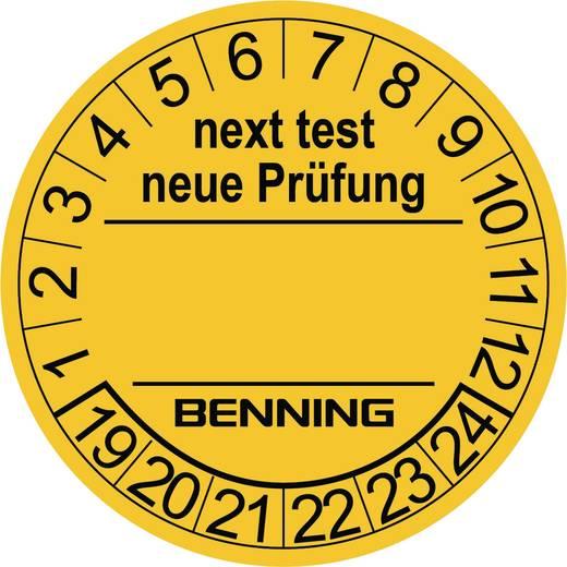 Teststickers 300 st. voor Benning apparaattester 756212 (Ø) 30 mm