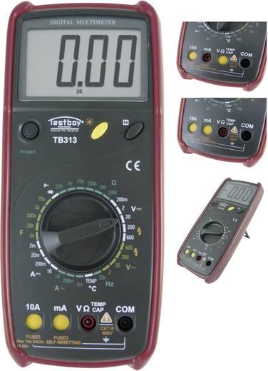 Testboy TB 313 Multimeter Digitaal Kalibratie: Zonder certificaat CAT III 600 V Weergave (counts): 2000