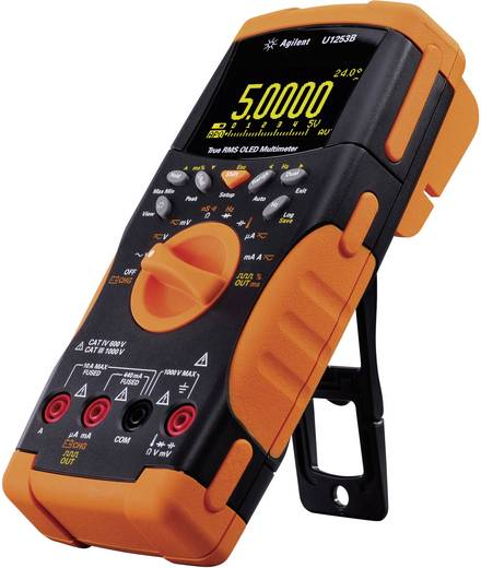 Keysight Technologies U1253B Multimeter Digitaal Kalibratie: Zonder certificaat Datalogger, OLED-display CAT III 1000 V, CAT IV 600 V Weergave (counts): 50000