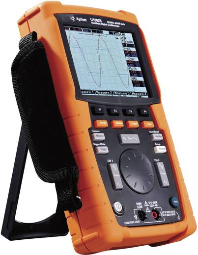 Handoscilloscoop (scoopmeter) Keysight Technologies U1602B-001 20 MHz 2-kanaals 100 MSa/s 125 kpts 8 Bit Digitaal geheu