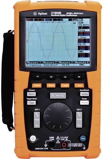 Keysight Technologies U1604B-001 Handoscilloscoop (scoopmeter) 40 MHz 2-kanaals 100 MSa/s 125 kpts 8 Bit Digitaal geheugen (DSO), Multimeterfuncties