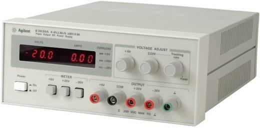 Keysight Technologies E3630A Labvoeding, regelbaar 0 - 6 V/DC 1 - 2.5 A 35 W Aantal uitgangen 3 x