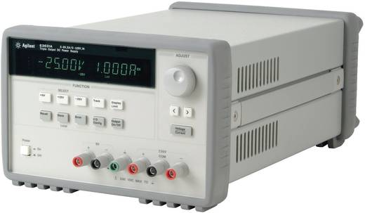 Keysight Technologies E3631A Labvoeding, regelbaar 0 - 6 V/DC 0 - 5 A 80 W Aantal uitgangen 3 x