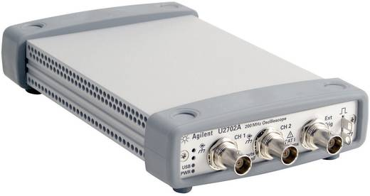 Oscilloscoop-voorzetstuk Keysight Technologies U2702A 200 MHz 2-kanaals 500 MSa/s 16 Mpts 8 Bit Digitaal geheugen (DSO)