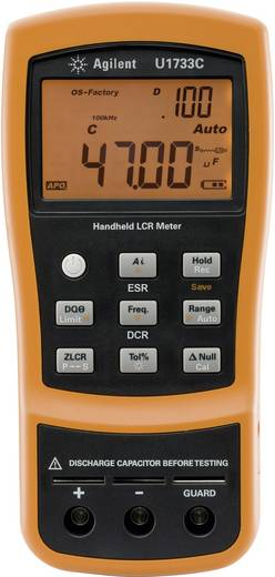 Keysight Technologies U1733C LCR-meter Digitaal Kalibratie: Zonder certificaat CAT I Weergave (counts): 20000