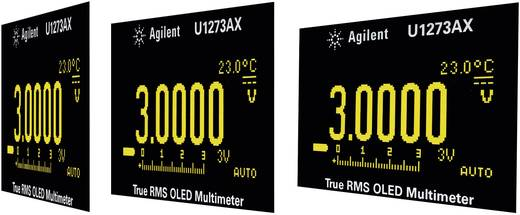 Keysight Technologies U1273AX Multimeter Digitaal Kalibratie: Zonder certificaat Datalogger, OLED-display CAT III 1000 V, CAT IV 600 V Weergave (counts): 30000