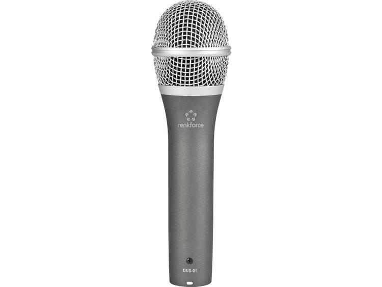 Renkforce DUS-01 Hand Zangmicrofoon Kabelgebonden incl. kabel