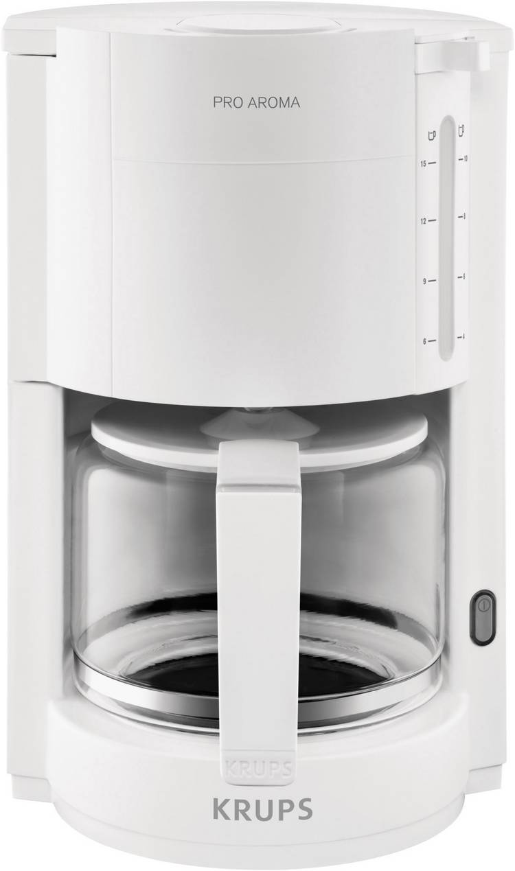 Image of Koffiezetapparaat Krups ProAroma Wit Capaciteit koppen=15