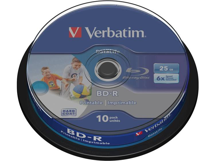 Verbatim BD-R Single Layer 10 stuks