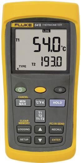 Temperatuurmeter Fluke 54IIB 50HZ -250 tot +1767 °C Sensortype E, J, K, N, R, S, T Kalibratie: Zonder certificaat