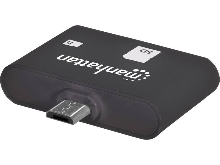 Manhattan Card Reader Manhattan SD-MMC-Micro SD USB 2.0-OTG 24-in-1 (406208)