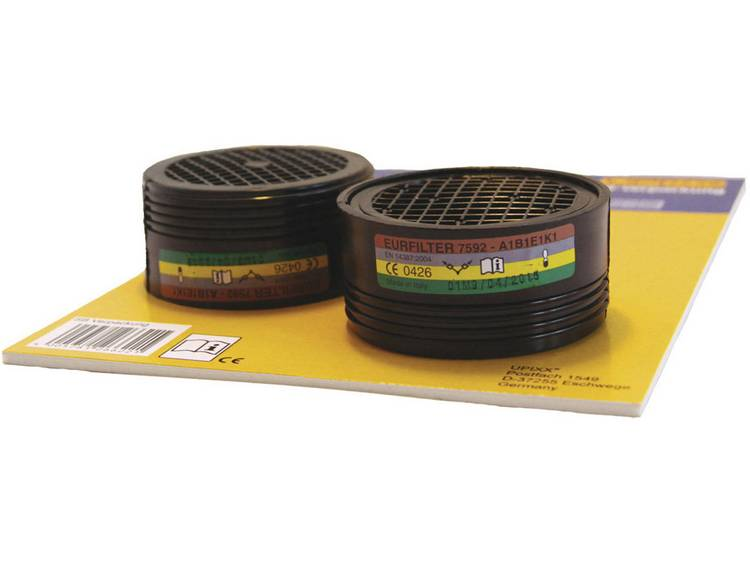 Upixx Eurfilter 26238 Filterklasse-beschermingsgraad: ABEK1 1 stuks