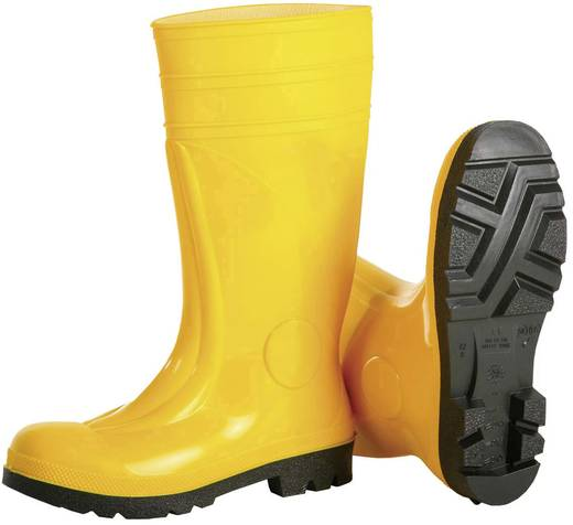 Veiligheidslaars PVC Safety S5 Maat: 46 Geel Leipold + Döhle Safety 2490 1 paar