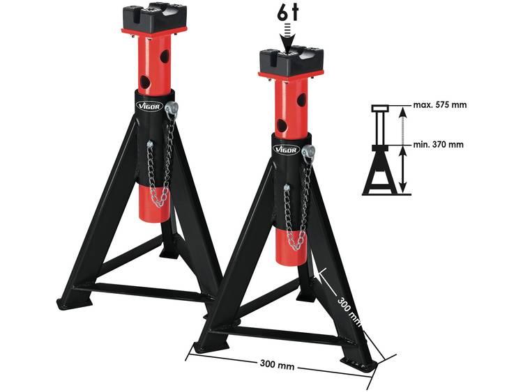 Bokken 6 t 370 mm 575 mm 6 t Vigor V2648