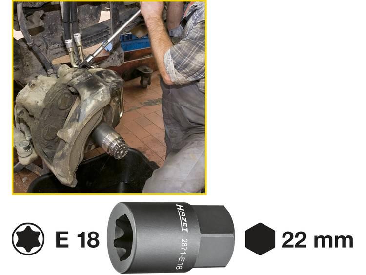 Hazet 2871 E18 Remklauw TORX hulpstuk