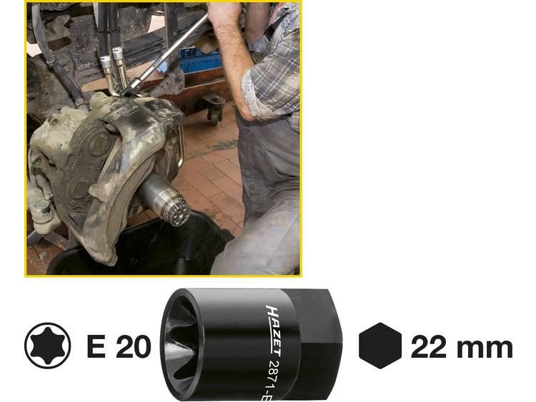 Hazet 2871 E20 Remklauw TORX hulpstuk