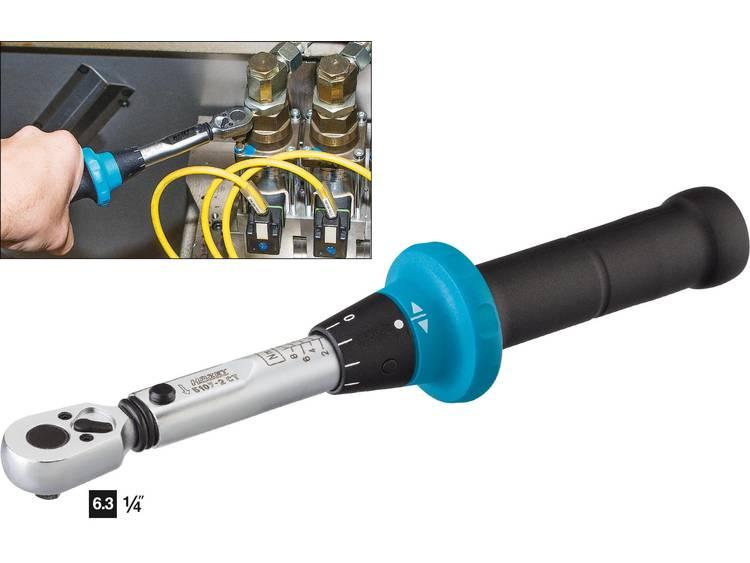 Hazet 5107 2CT 5107 2CT Momentsleutel met omschakelbare ratel 1 4 (6.3 mm) 1 9 Nm
