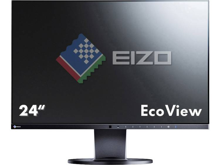 LED-monitor 60.5 cm (23.8 inch) EIZO EV2450-BK Energielabel A 1920 x 1080 pix Full HD 5 ms DisplayPort, HDMI, DVI, VGA IPS LED