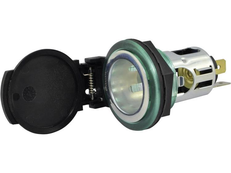 BAAS ZA22 Aanstekercontactdoos met veerdeksel ZA22 Geschikt voor Sigarettenaansteker
