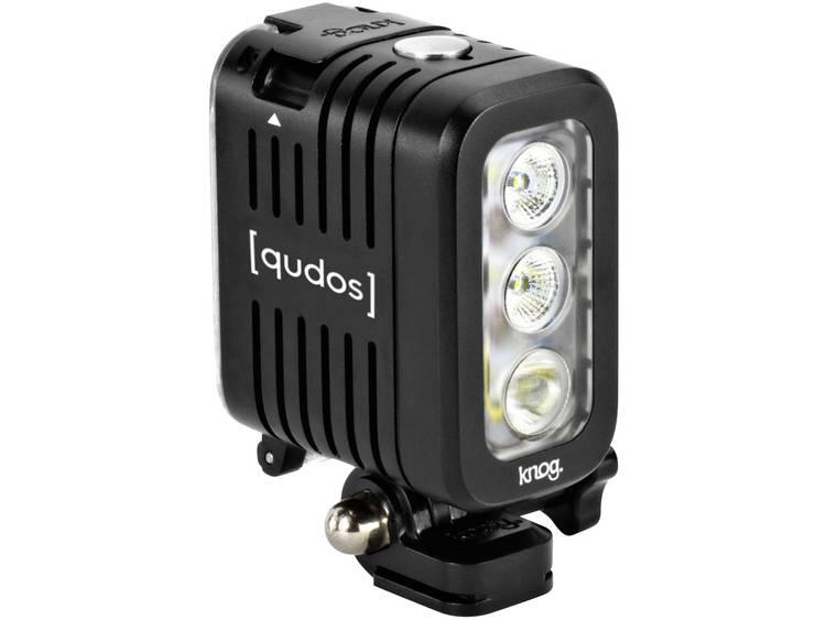 Qudos by Knog Qudos Action Light zwart voor gopro + andere Action Cams, DSLR's, Statief.