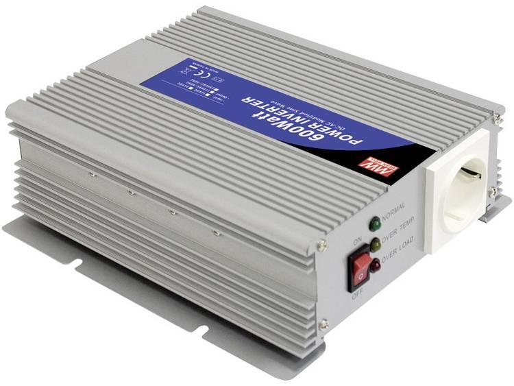 Omvormer MeanWell A301-600-F3 600 W 12 V-DC 10 15 V-DC Schroefklemmen Geaarde contactdoos