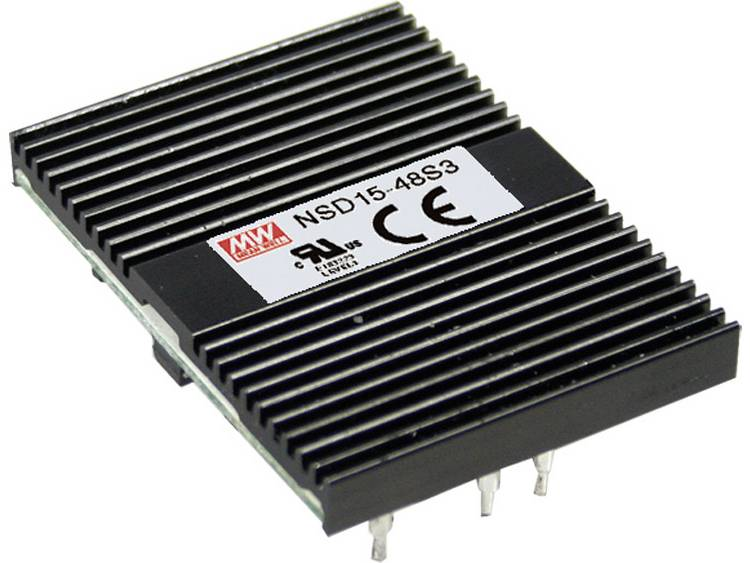 DC DC converter Mean Well NSD15 48S15 1000 mA
