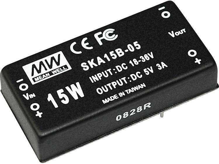 DC DC converter Mean Well SKA15B 15 1000 mA