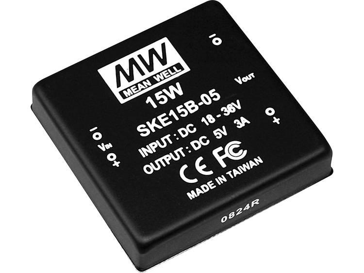 DC DC converter Mean Well SKE15B 15 1000 mA