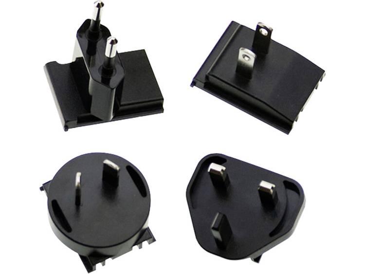 Mean Well AC PLUG MIX Adapterstekker Geschikt voor merk Mean Well