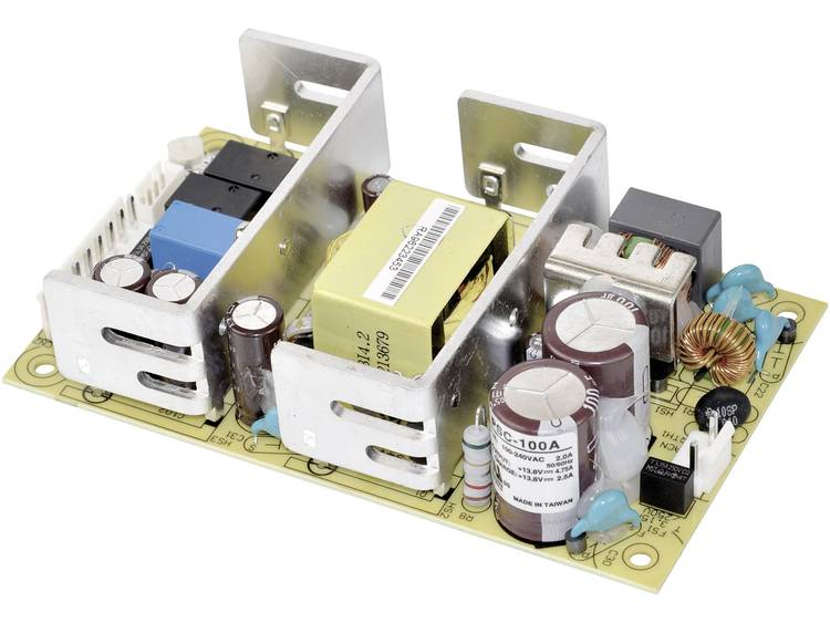 Mean Well PSC 100A AC DC inbouwnetvoeding gesloten 27.6 V DC 7 A 100 W