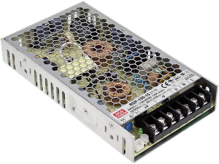 Mean Well RSP 100 24 AC DC inbouwnetvoeding gesloten 24 V DC 4.2 A 100 W
