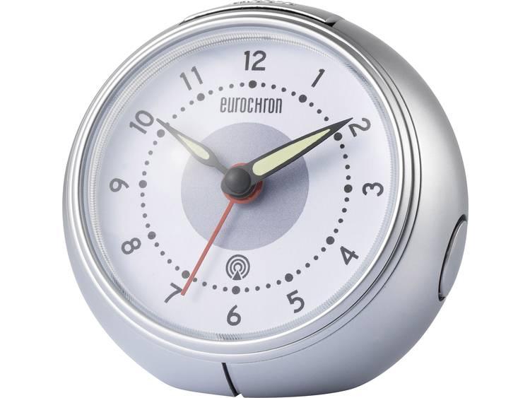 Wekker Zendergestuurd Grijs Alarmtijden: 1 Eurochron EFW 1000